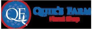 Quik's Farm Floral Shop Logo